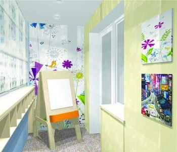 Как сделать детскую комнату на балконе или лоджии