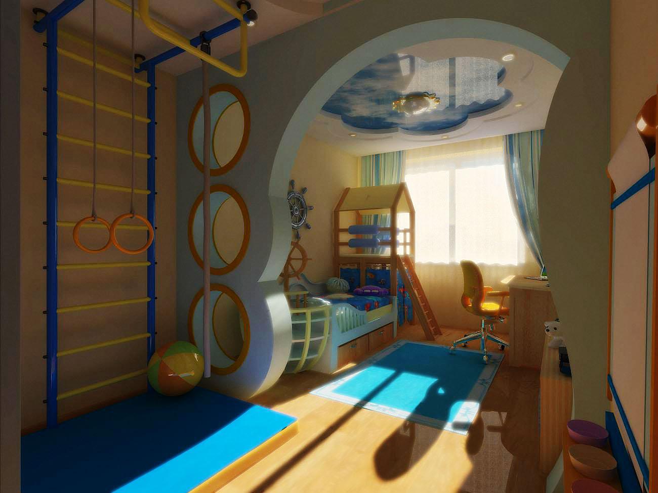 Детская на балконе или лоджии: дизайн интерьера.