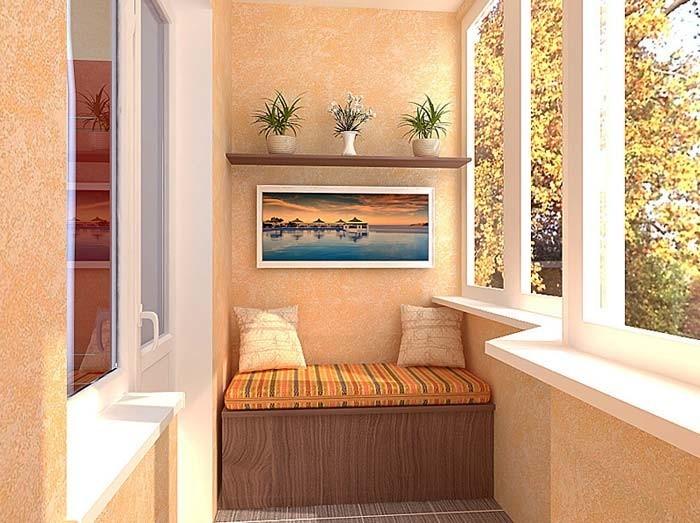 диванчик на балкон своими руками фото