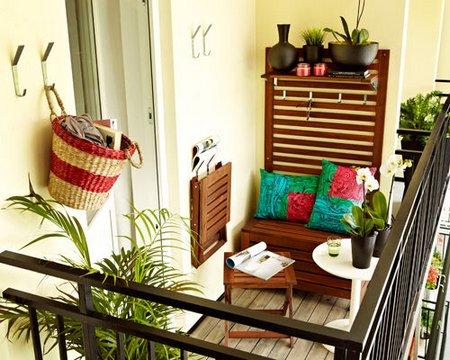 Как обустроить маленький балкон и лоджию: дизайнерские идеи
