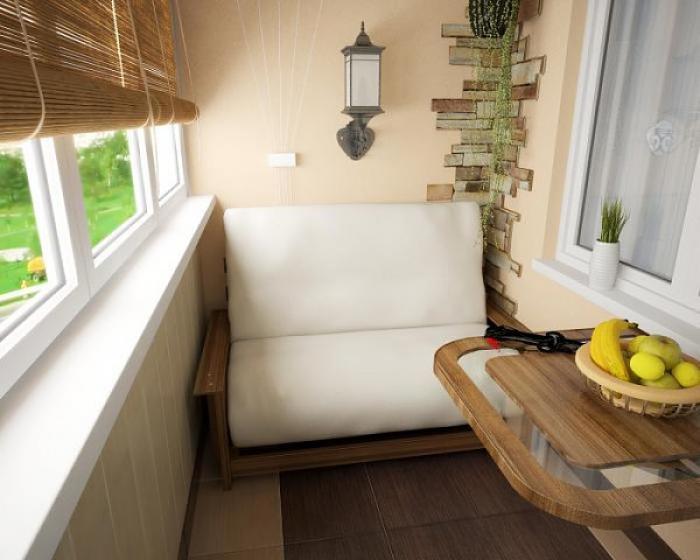 Небольшой диванчик на балкон