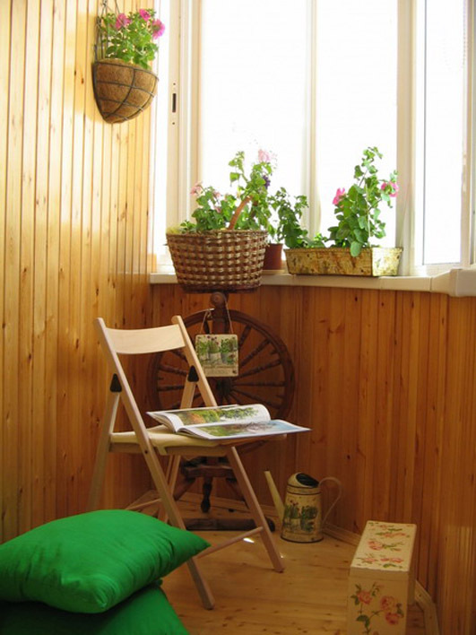 Дизайн маленького балкона и лоджии: идеи по оформлению интер.
