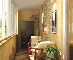 Как сделать и оформить балкон в стиле прованс