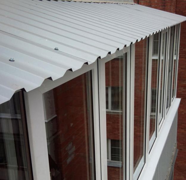 Материал для крыши балкона