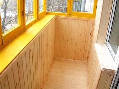Отделка балконов и лоджий вагонкой: выбираем и ремонтируем