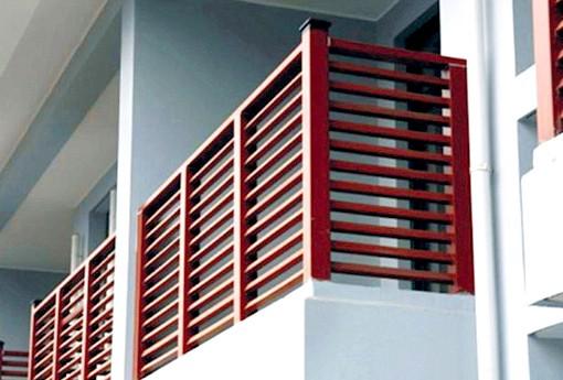 Современные ограждения балконов