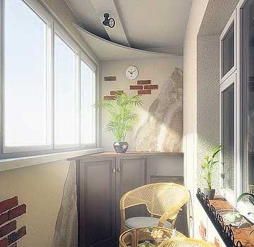 Как оформить красиво балкон и лоджию в квартире