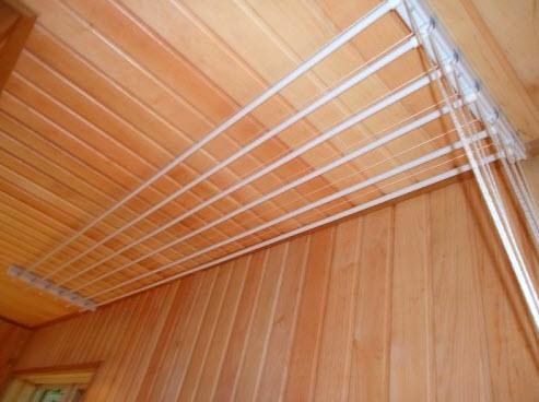 Бельевые веревки на балкон: как сделать, натянуть, повесить, закрепить
