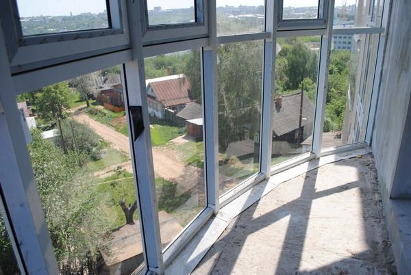 Дизайн остекление балконов