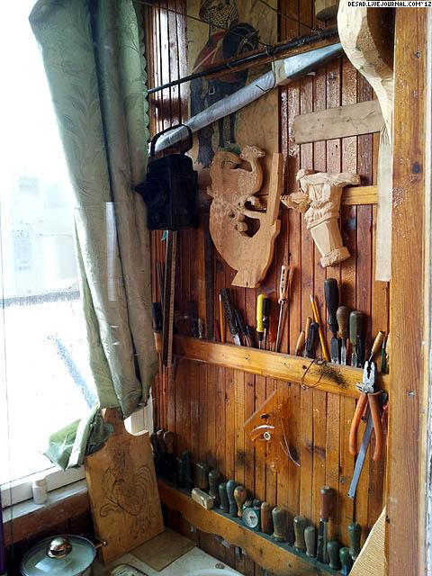 Полки для хранения инструментов