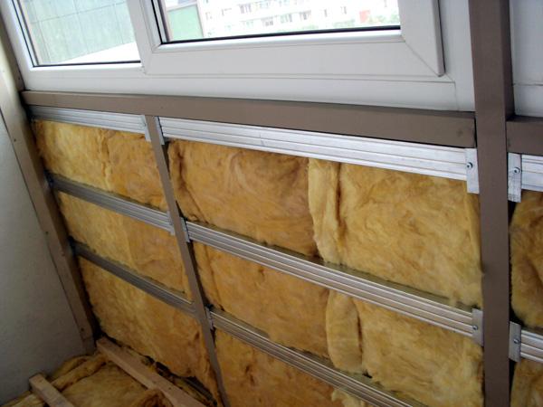 Как правильно утеплить балкон и лоджию минватой