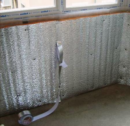 Как сделать качественное утепление балкона пенофолом своими руками