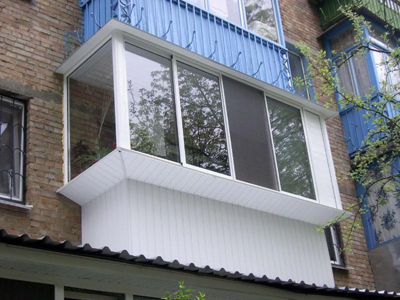 Как сделать остекление балконов и лоджий с выносом