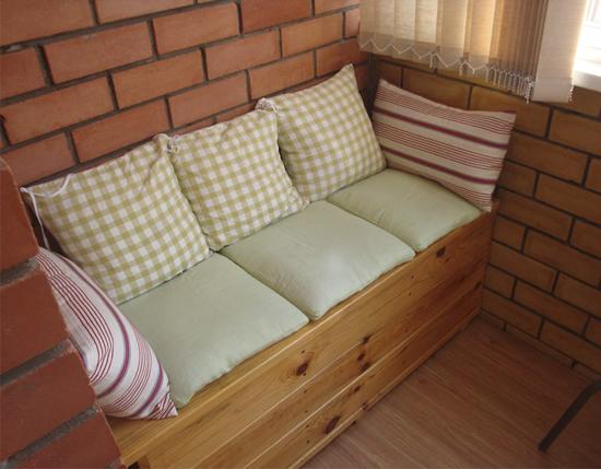 Скамья с ящиком для балкона своими руками 928