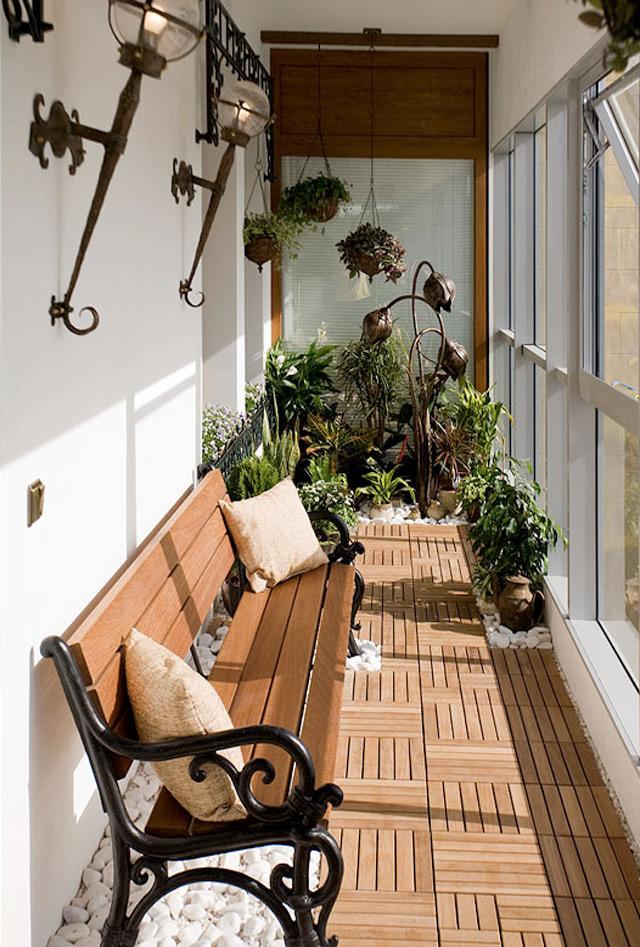 Скамейка на балкон с ящиком своими руками: советы мастеров.