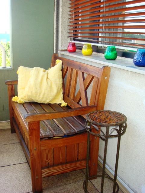 Как сделать скамью на балкон и лоджию