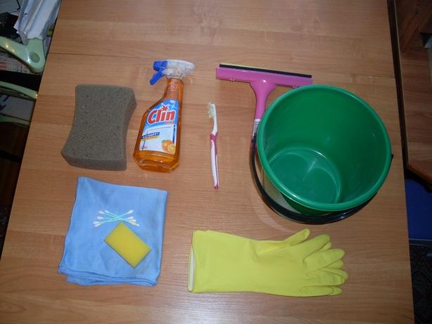 Простые средства для мытья окон