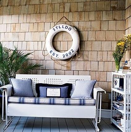 Как оформить балкон в морском стиле своими руками