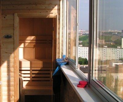 Как на балконе и лоджии сделать сауну