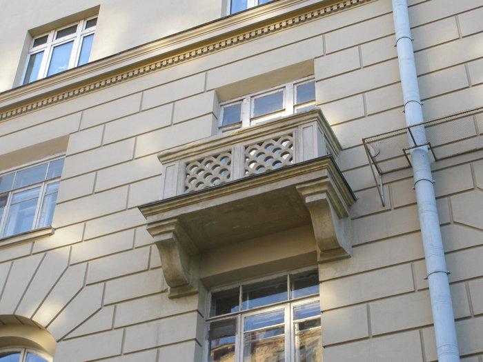 Балкон в сталинском доме