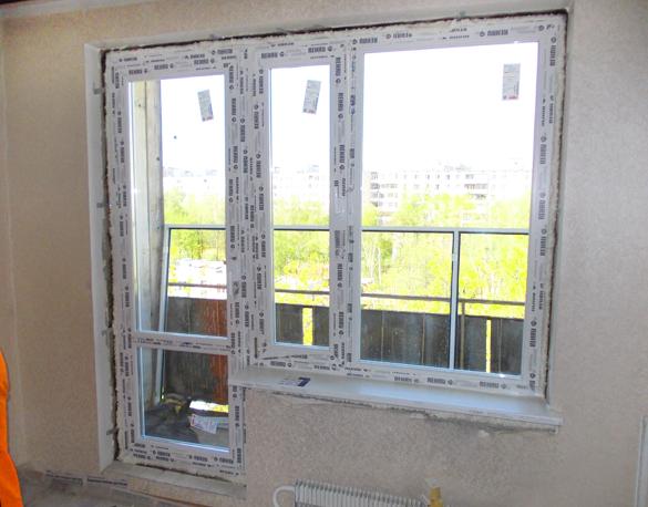 Монтаж и замена пластикового балконного блока