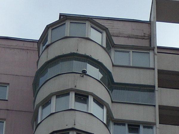 Фото круглых балконов