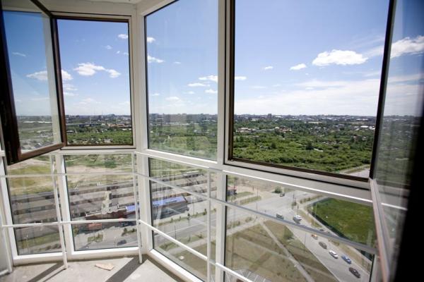 Как установить французские окна на балкон