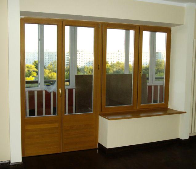Новый балконный блок