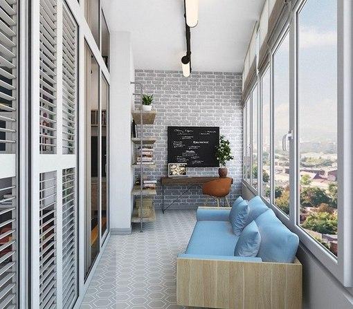 10 лучших идей для обустройства балкона и лоджии