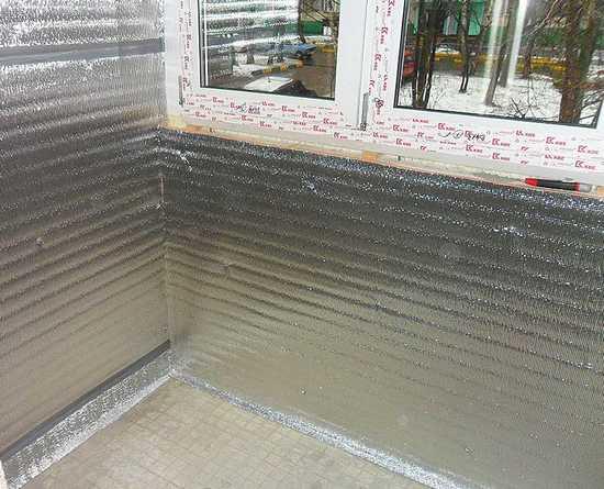 Как сделать пароизоляцию балкона и лоджии