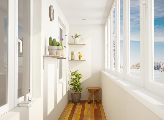 Проект утепленного балкона