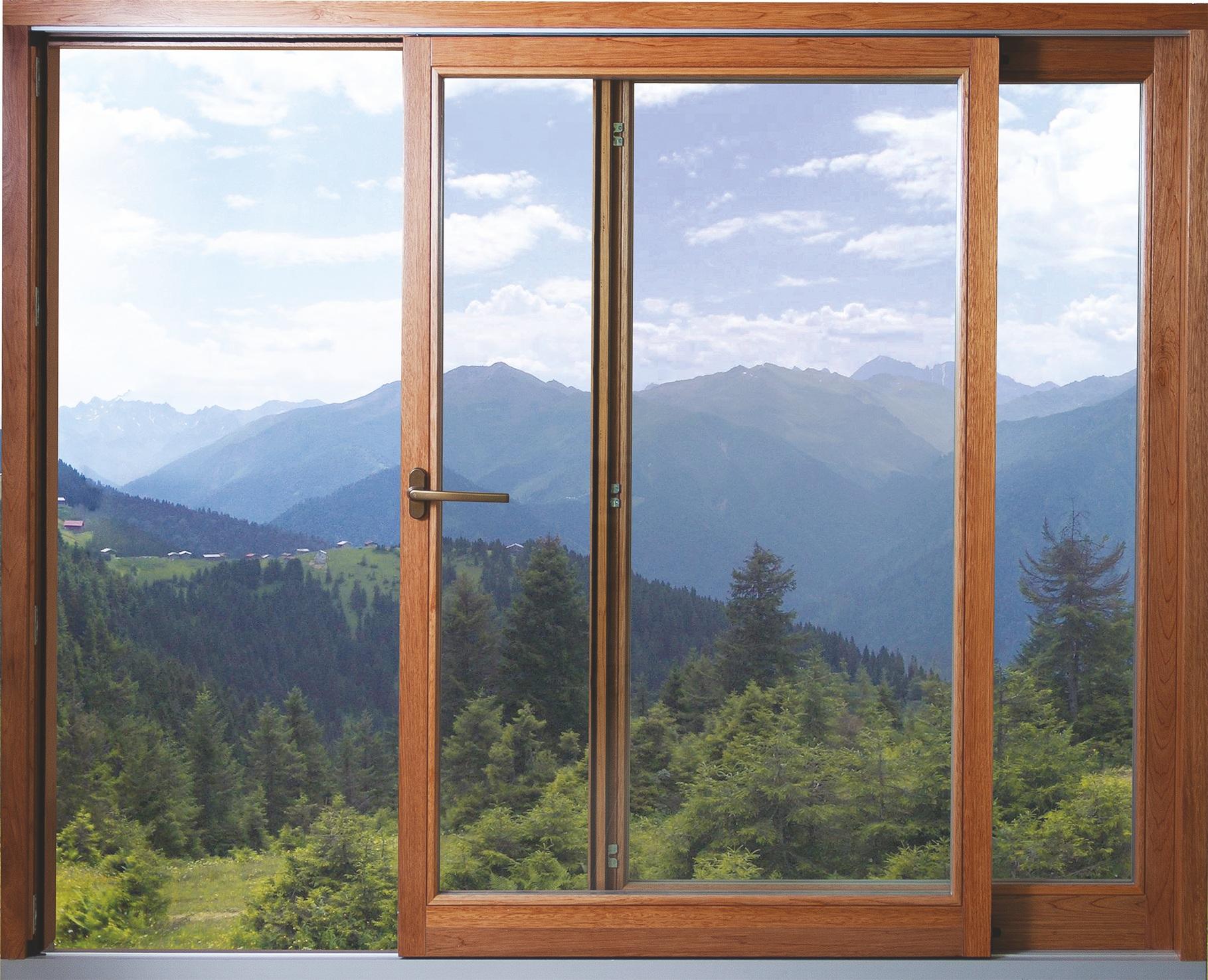 Раздвижные деревянные окна