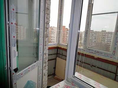 Как установить балконную пластиковую дверь: видео инструкция