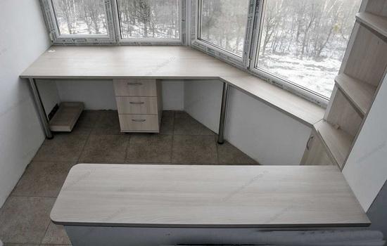 Соединение комнаты с балконом лодочка серии п44т.