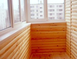 Балкон из блок хауса: обшивка и отделка своими руками