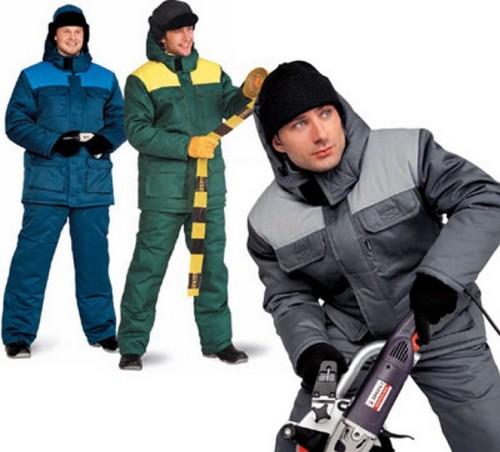 Зимняя спецодежда для строительных работ